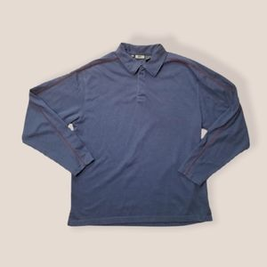REI mens long sleeve blue base layer UPF 50 large